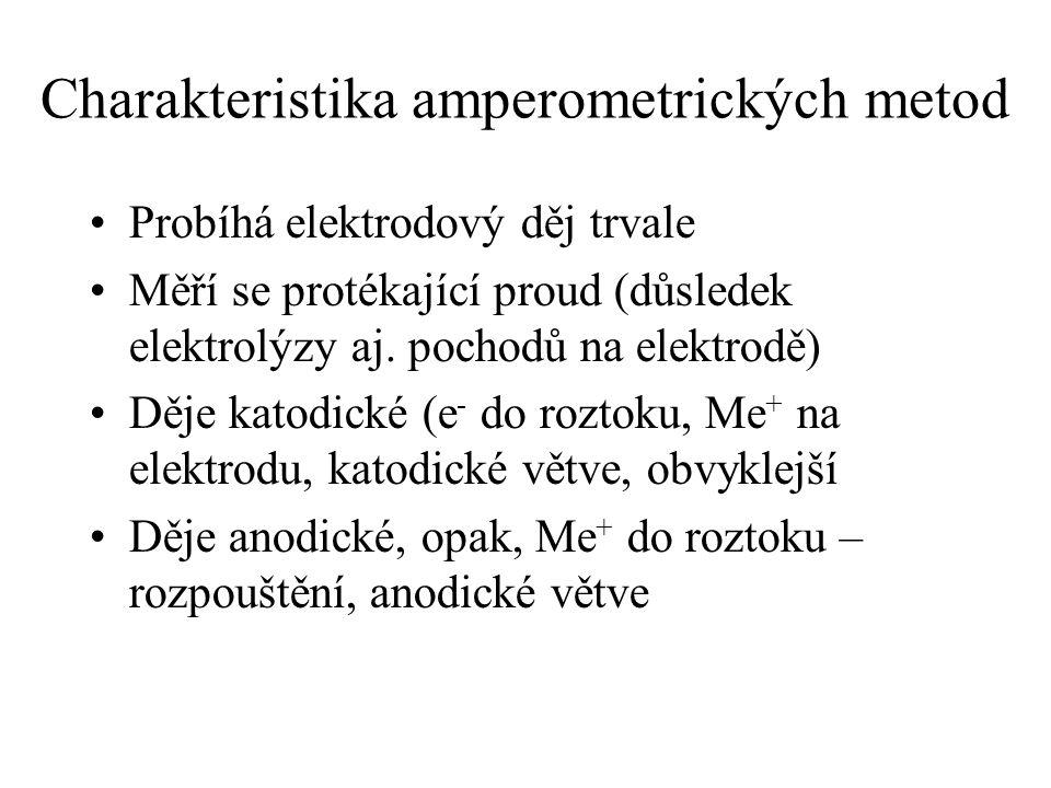 Charakteristika amperometrických metod
