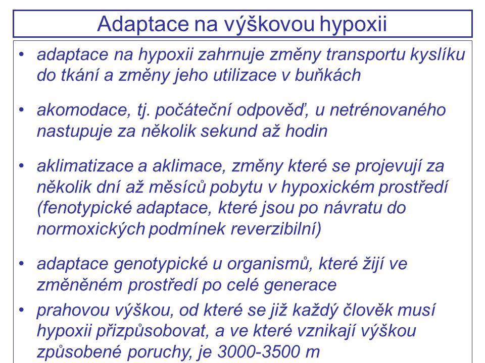 Adaptace na výškovou hypoxii