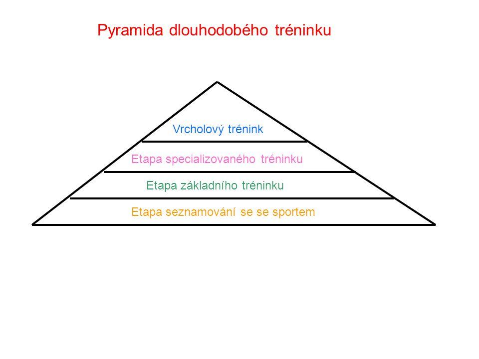 Pyramida dlouhodobého tréninku