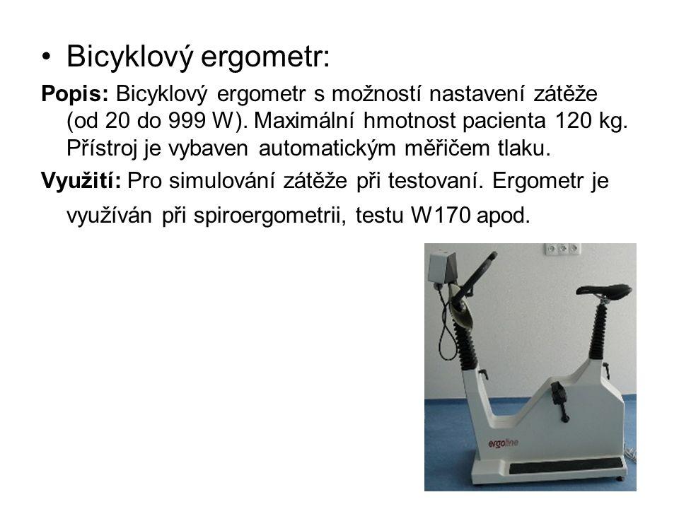 Bicyklový ergometr: