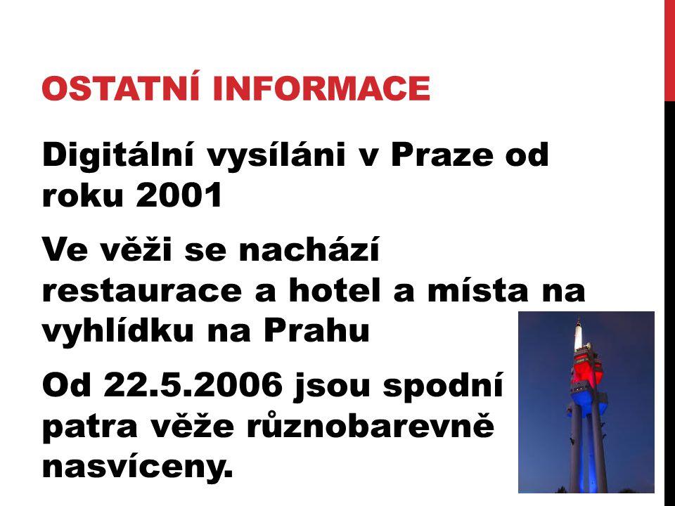 Ostatní informace