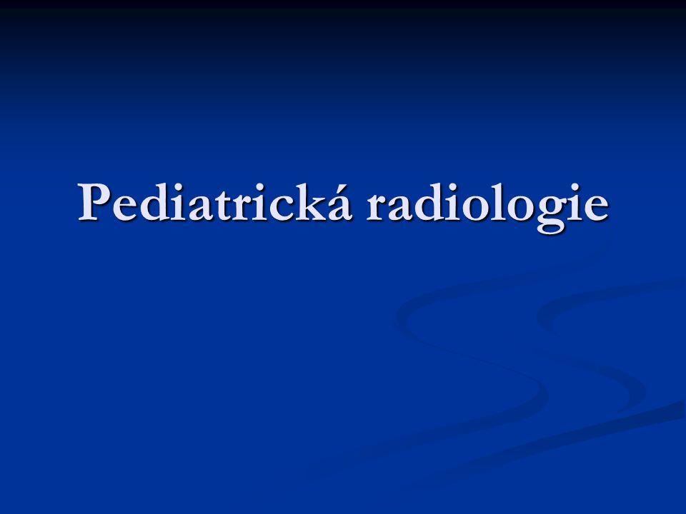 Pediatrická radiologie