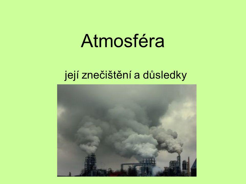 její znečištění a důsledky