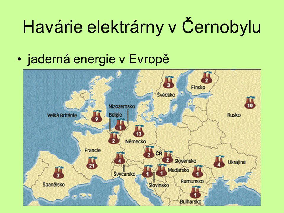 Havárie elektrárny v Černobylu
