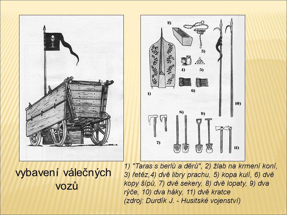 vybavení válečných vozů