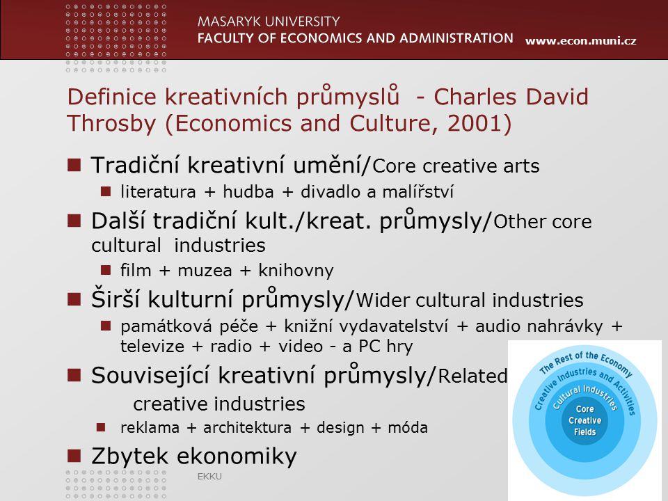 Tradiční kreativní umění/Core creative arts