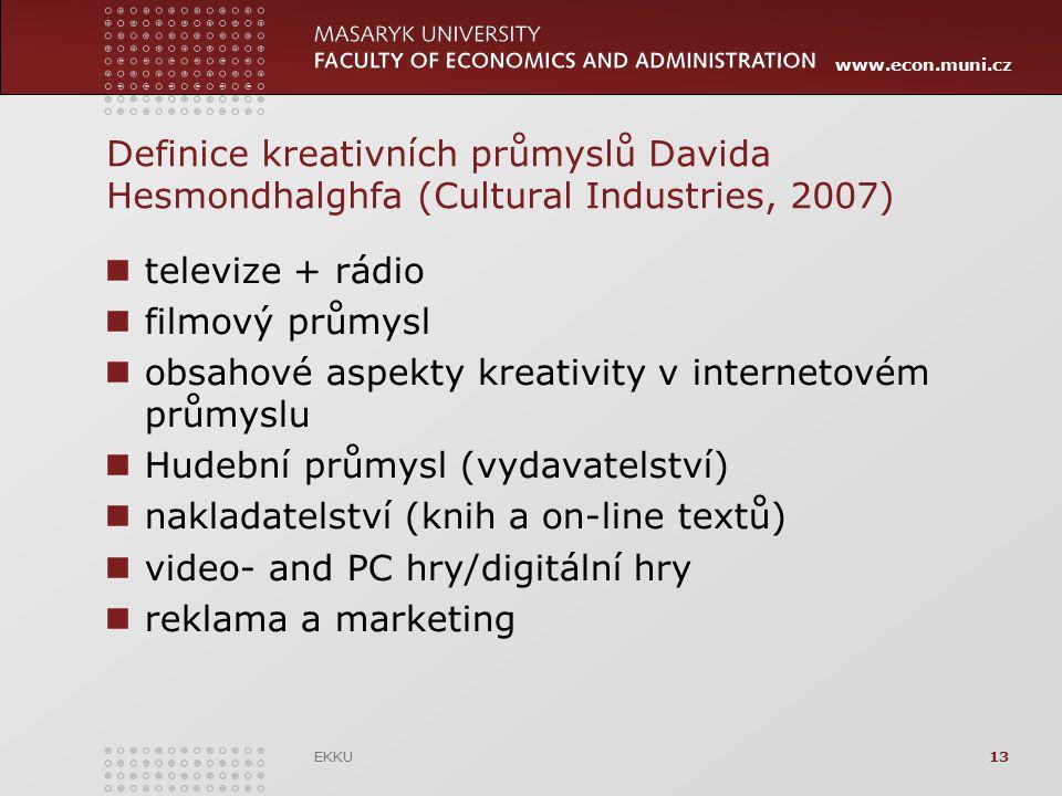 obsahové aspekty kreativity v internetovém průmyslu