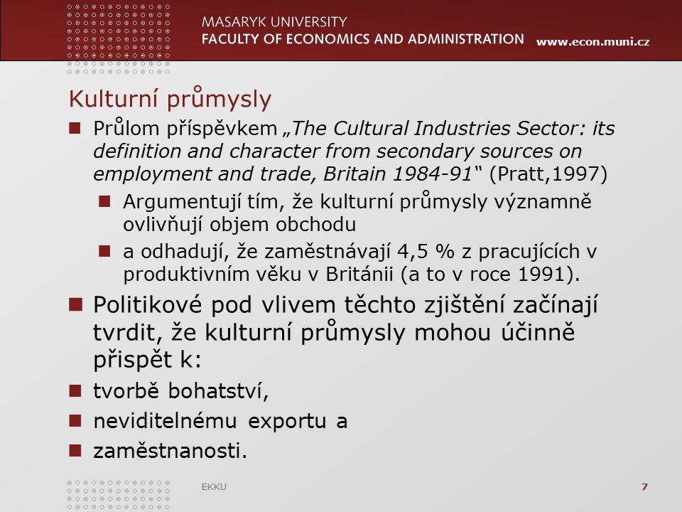 Kulturní průmysly