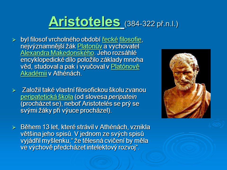 Aristoteles (384-322 př.n.l.)
