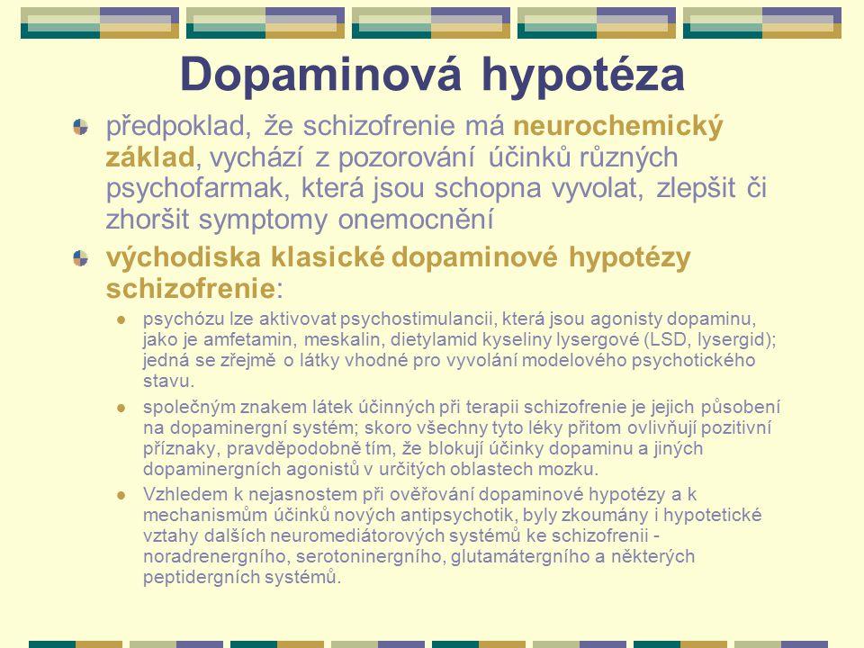 Dopaminová hypotéza