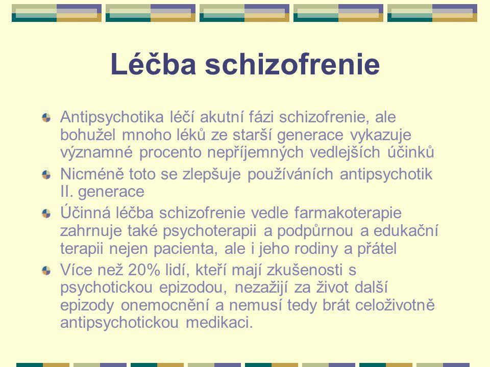 Léčba schizofrenie