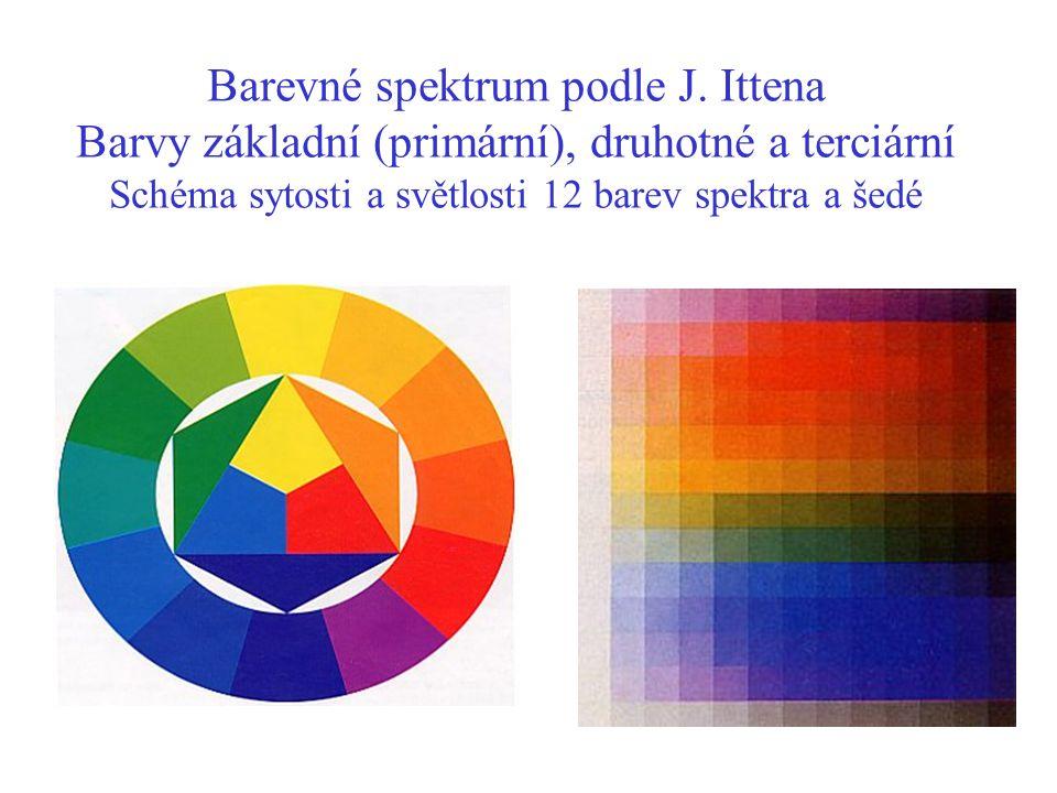 Barevné spektrum podle J