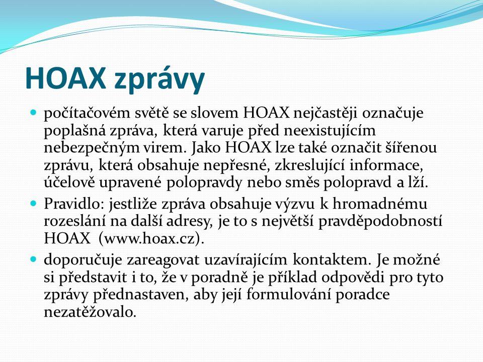 HOAX zprávy