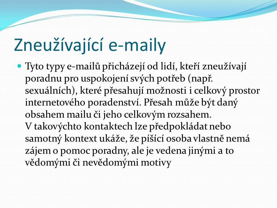Zneužívající e-maily