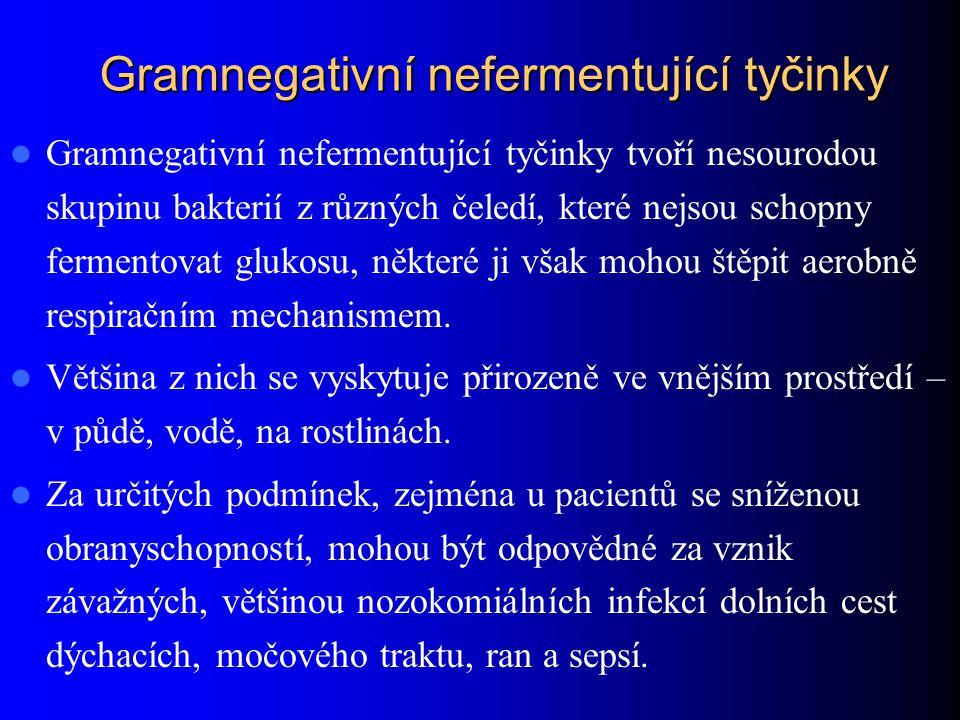 Gramnegativní nefermentující tyčinky