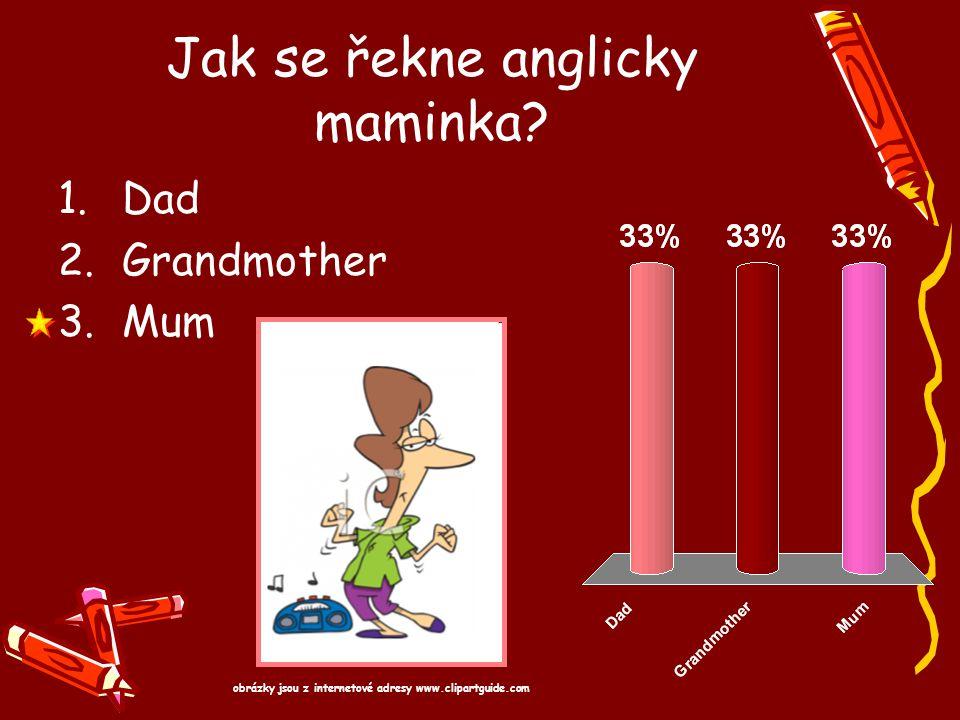 Jak se řekne anglicky maminka