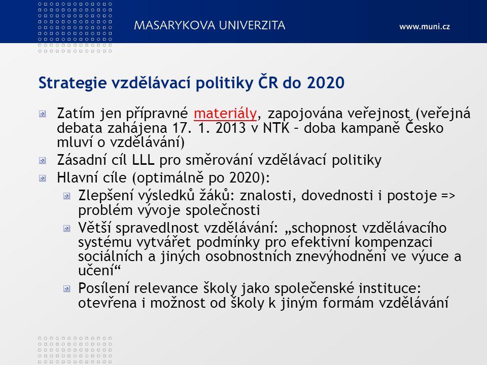 Strategie vzdělávací politiky ČR do 2020