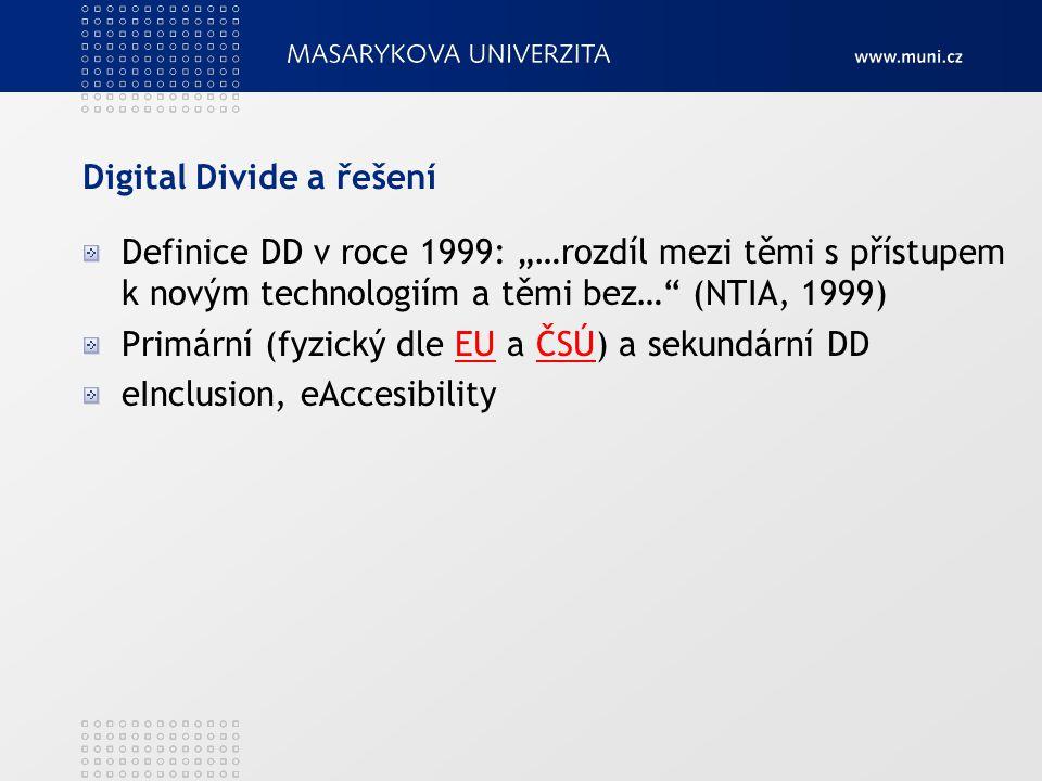Digital Divide a řešení