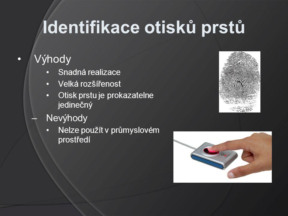 Identifikace otisků prstů
