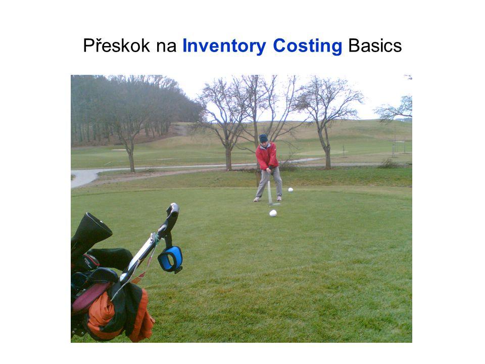 Přeskok na Inventory Costing Basics