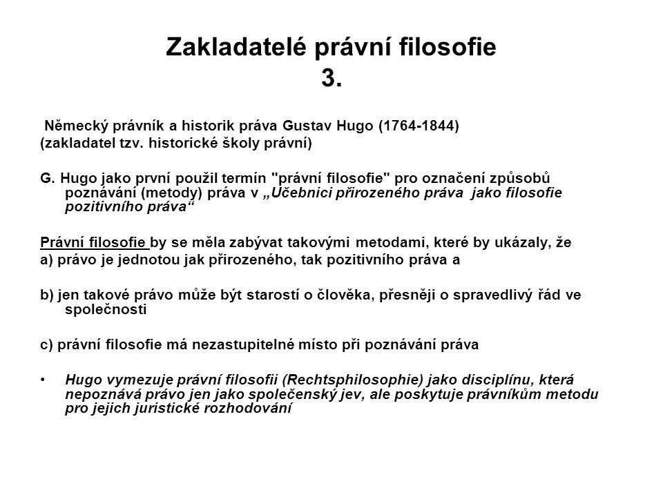 Zakladatelé právní filosofie 3.