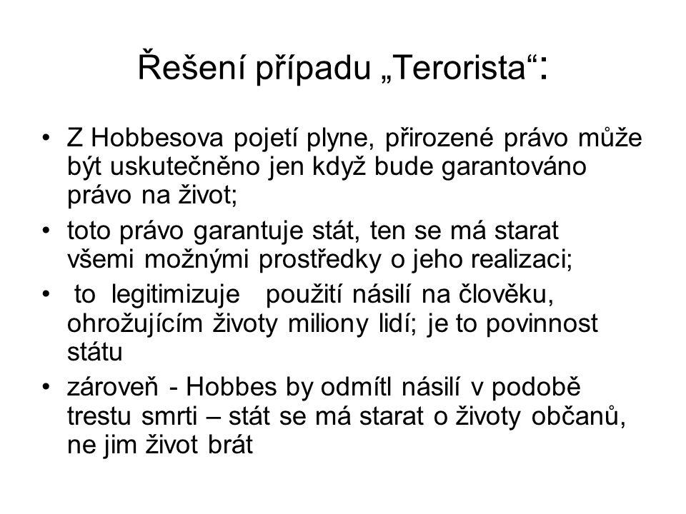 """Řešení případu """"Terorista :"""
