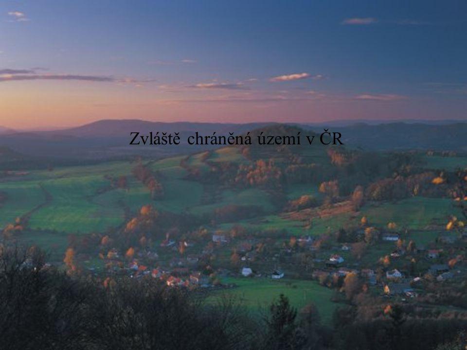 Zvláště chráněná území v ČR