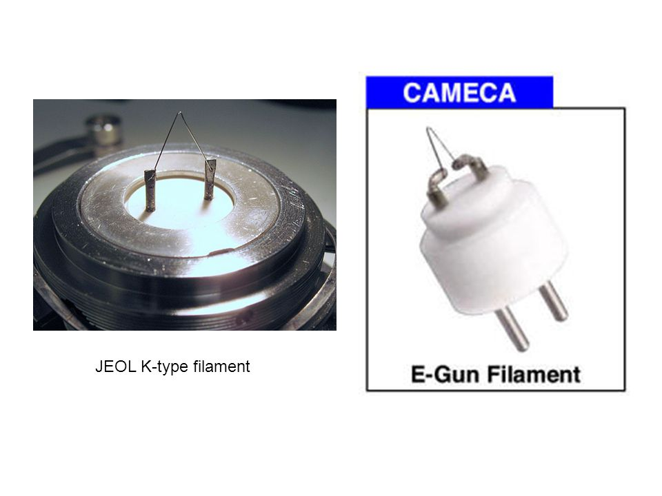 JEOL K-type filament
