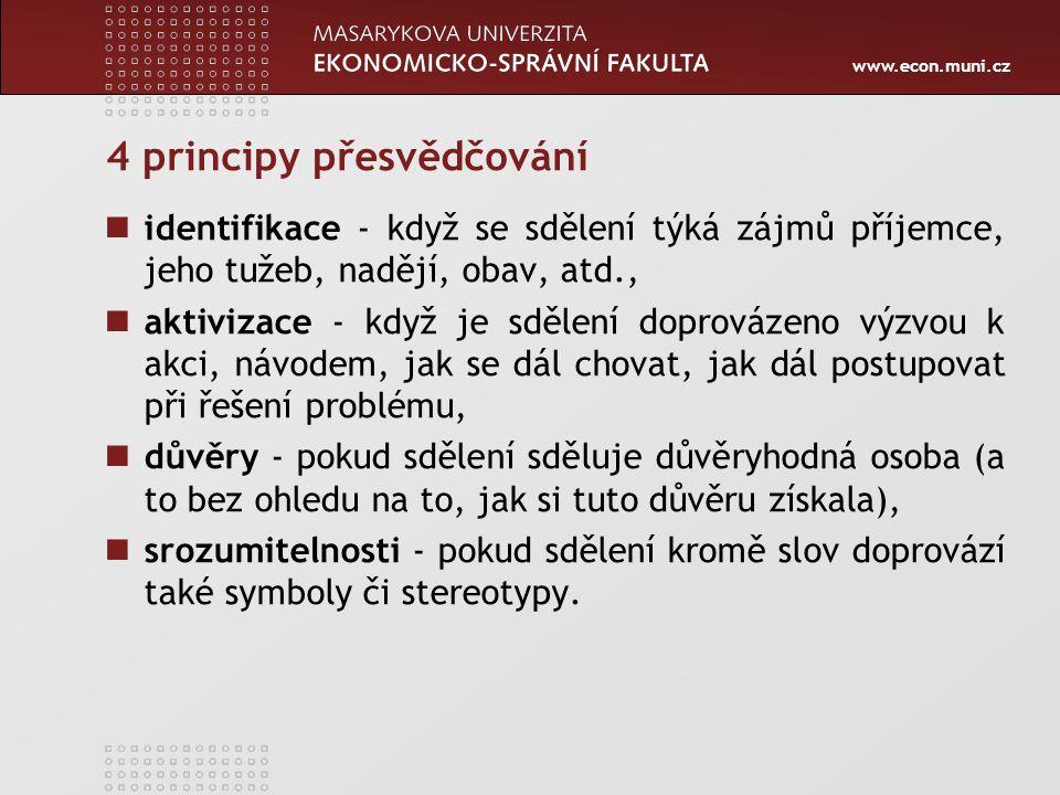4 principy přesvědčování