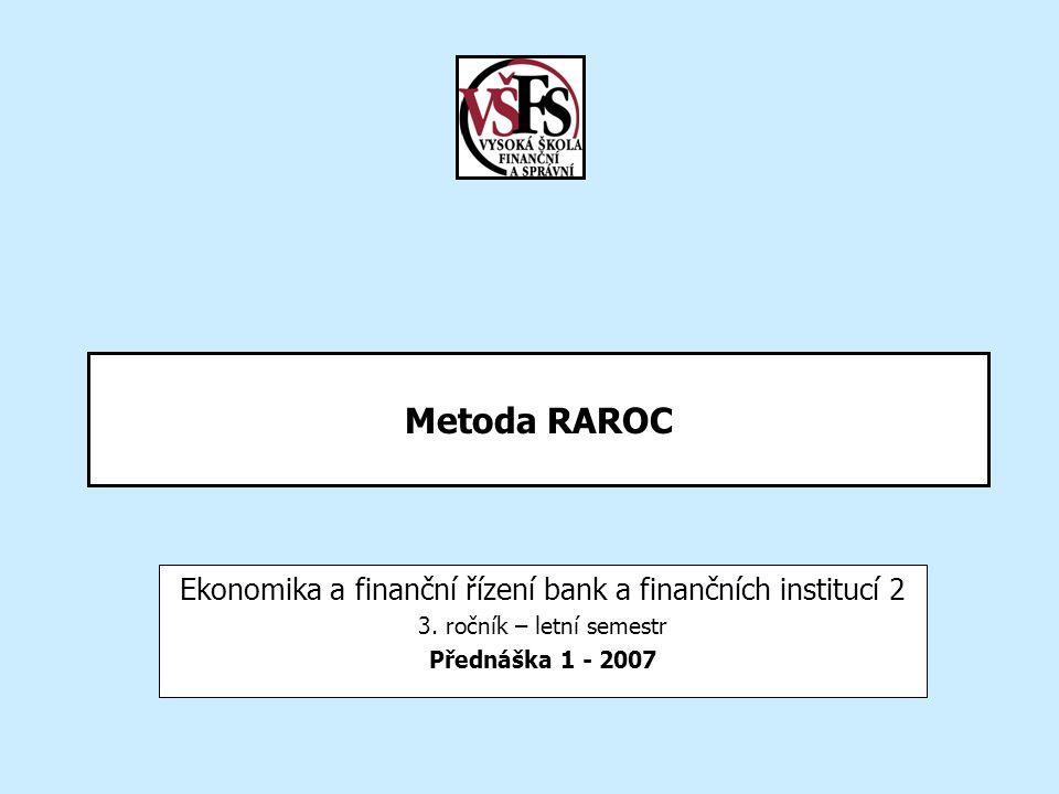 Ekonomika a finanční řízení bank a finančních institucí 2