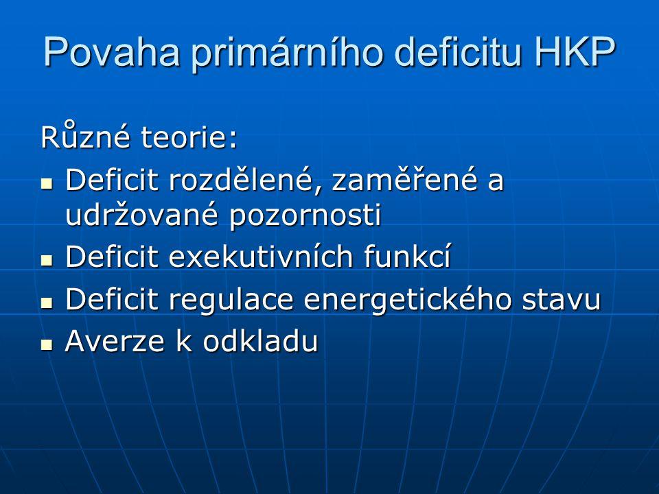 Povaha primárního deficitu HKP