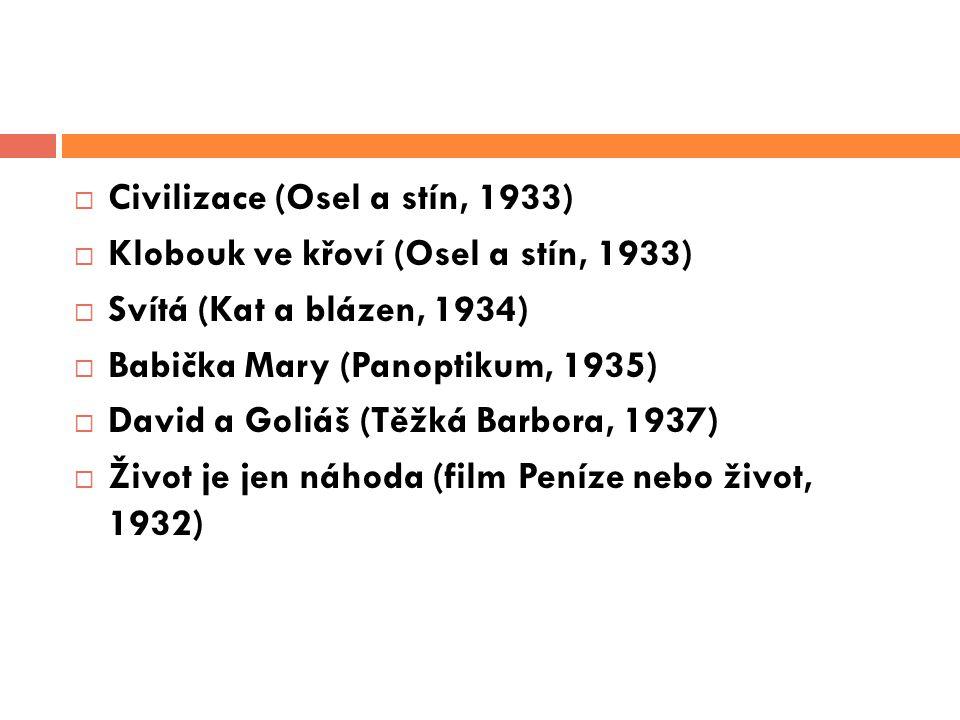 Civilizace (Osel a stín, 1933)