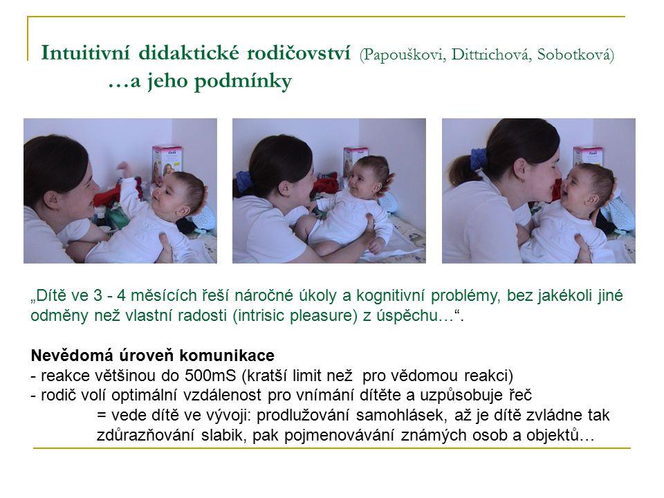 Intuitivní didaktické rodičovství (Papouškovi, Dittrichová, Sobotková)