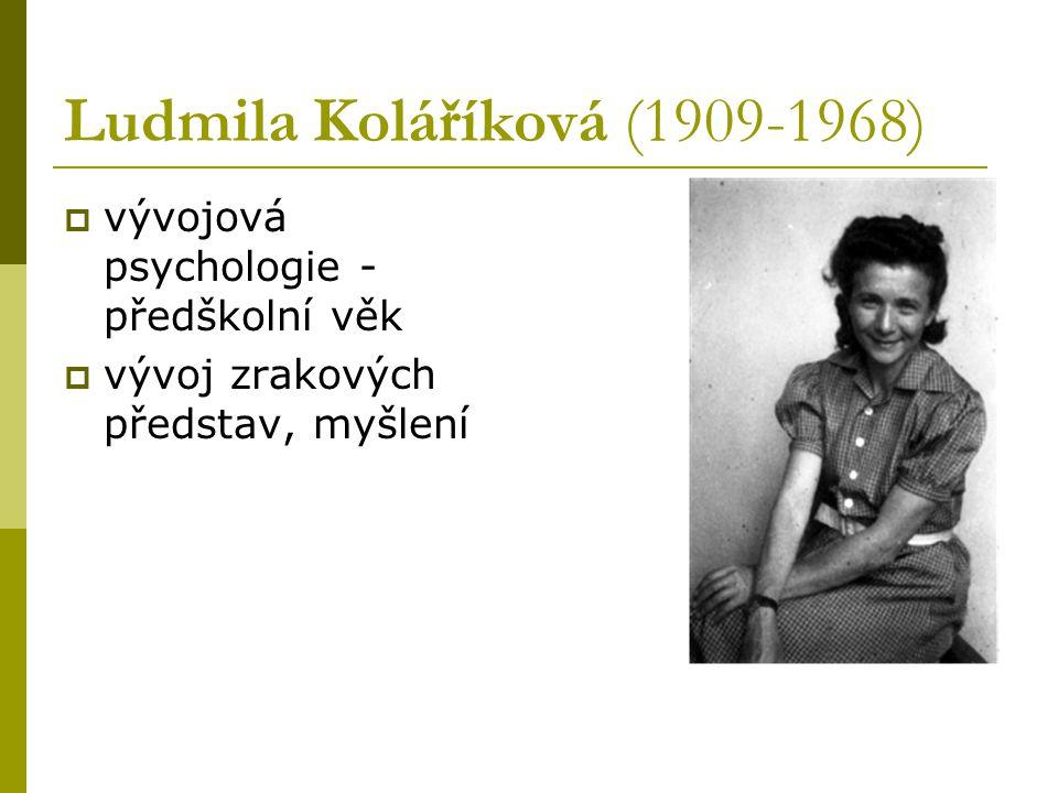 Ludmila Koláříková (1909-1968)