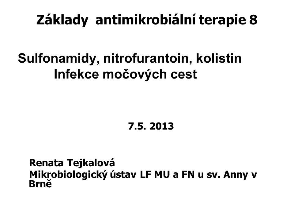 Základy antimikrobiální terapie 8