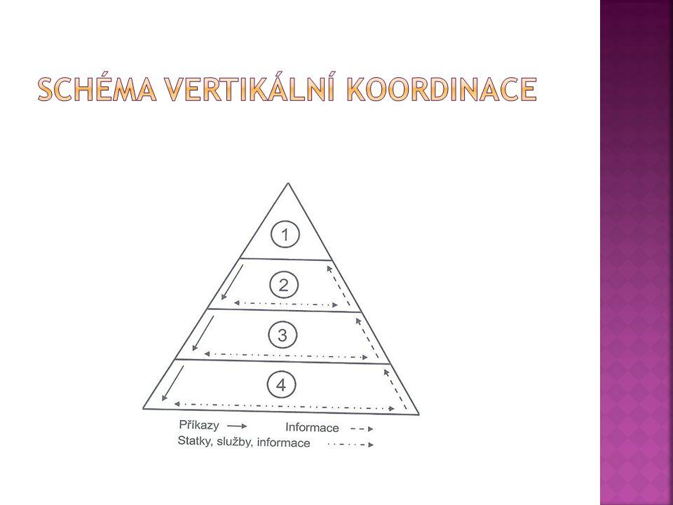 Schéma vertikální koordinace