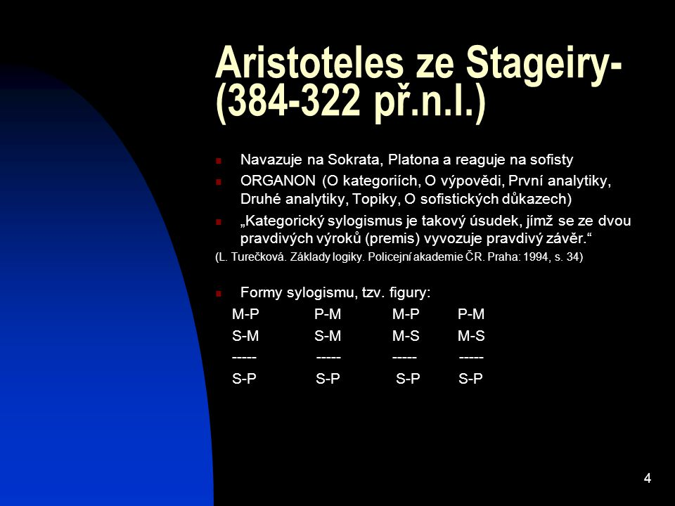 Aristoteles ze Stageiry- (384-322 př.n.l.)