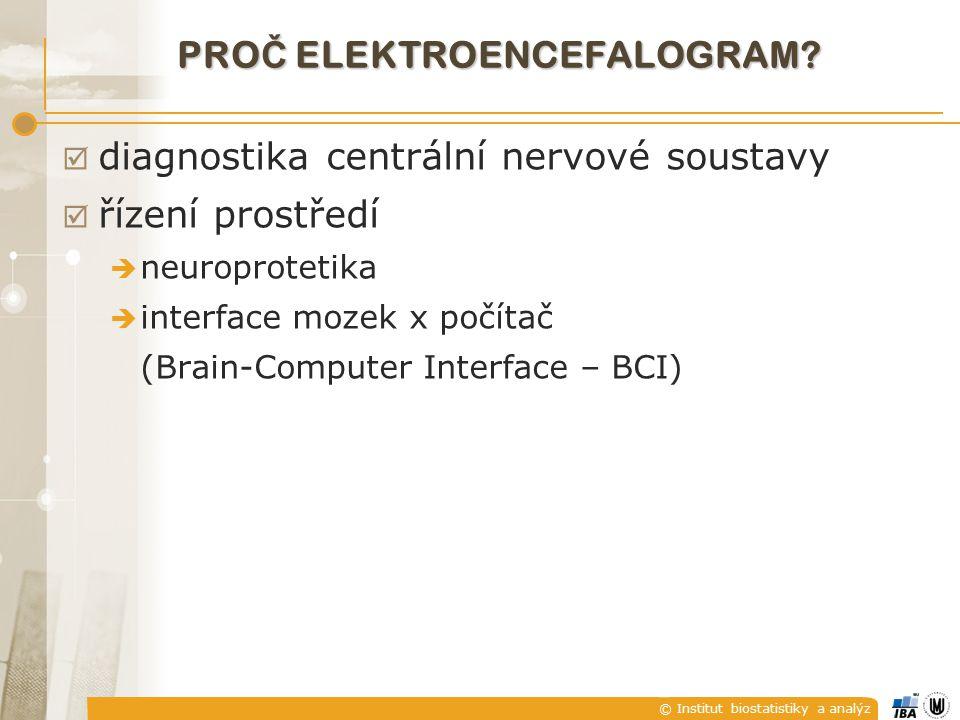 proč elektroencefalogram