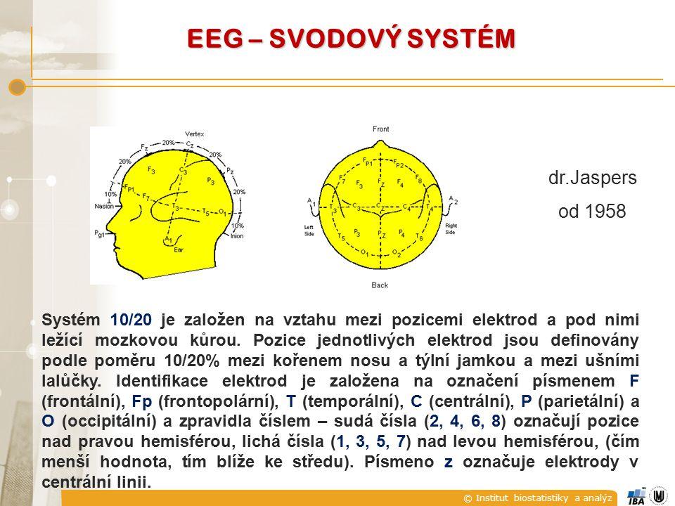 EEG – SVODOVÝ SYSTÉM dr.Jaspers od 1958