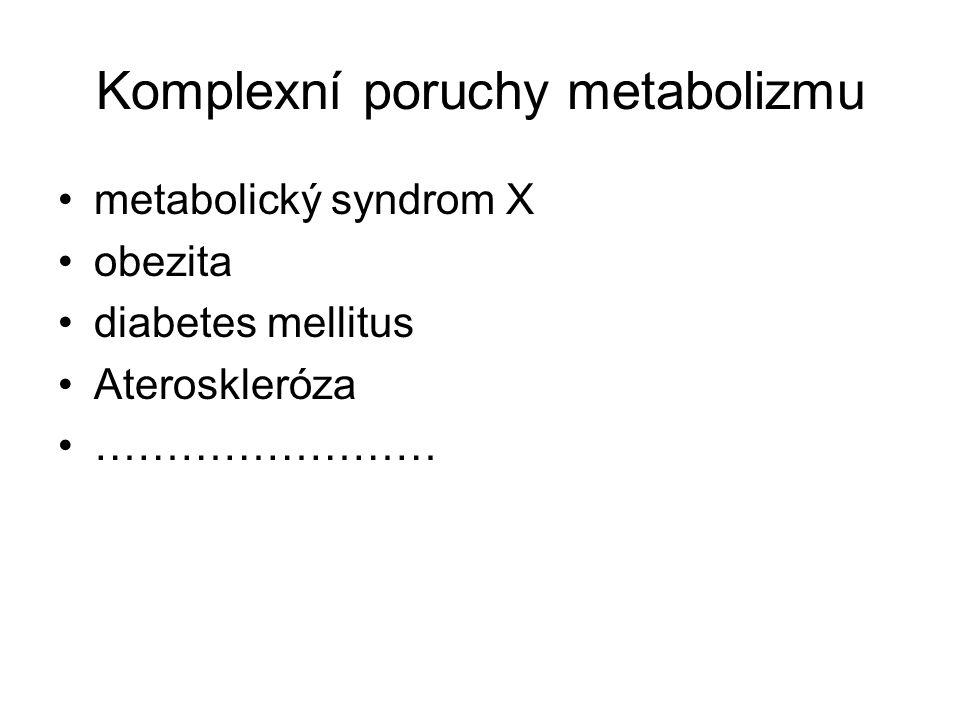 Komplexní poruchy metabolizmu