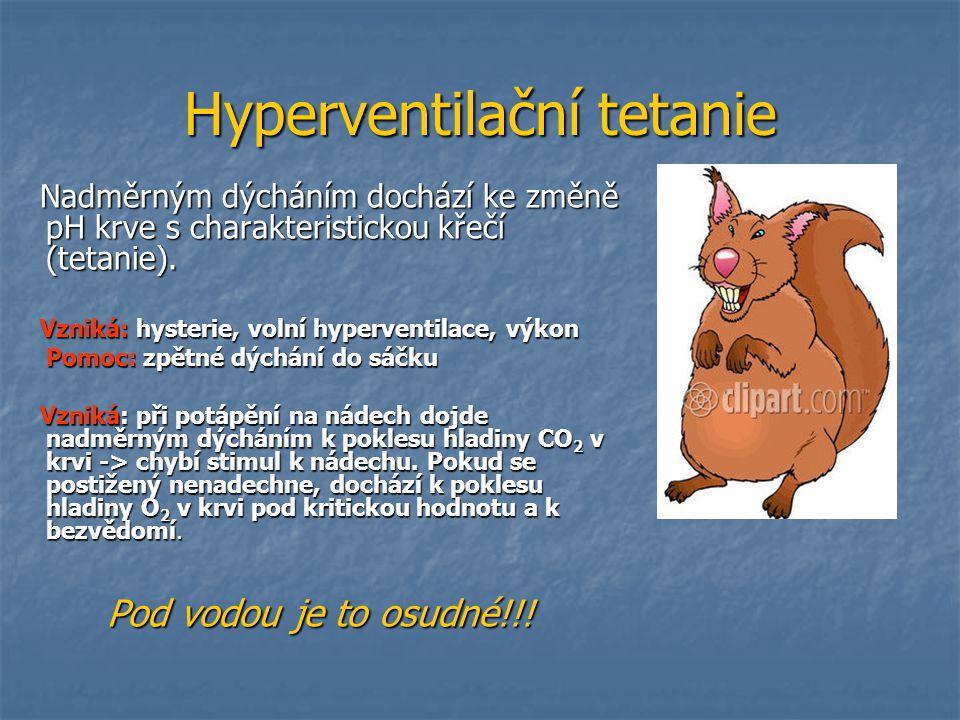 Hyperventilační tetanie