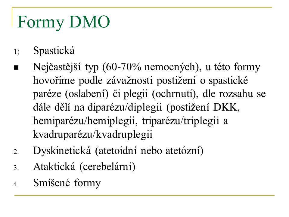 Formy DMO Spastická.