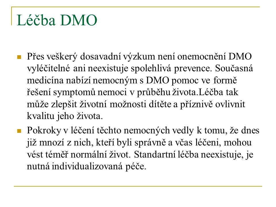 Léčba DMO