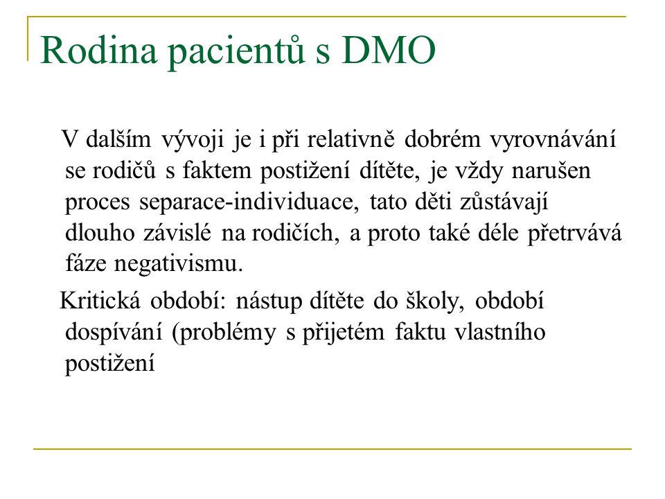 Rodina pacientů s DMO