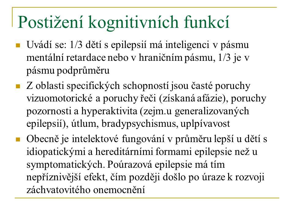 Postižení kognitivních funkcí