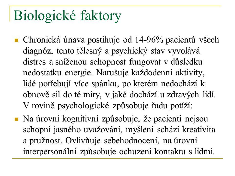 Biologické faktory