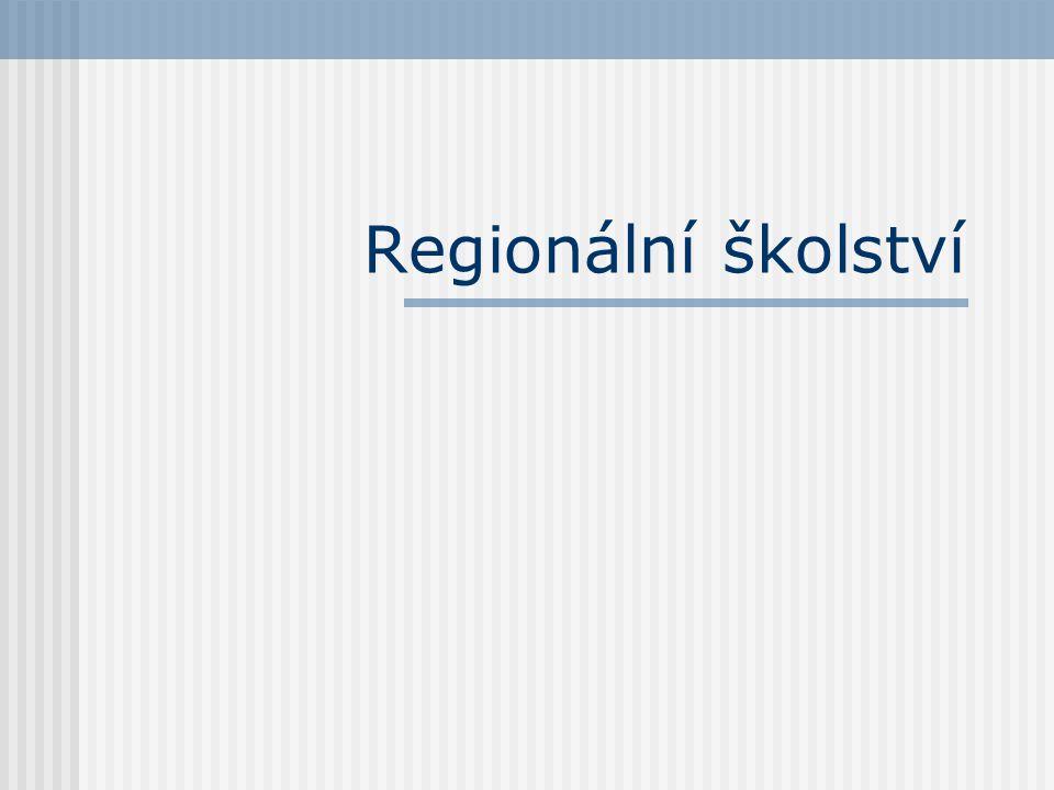 Regionální školství