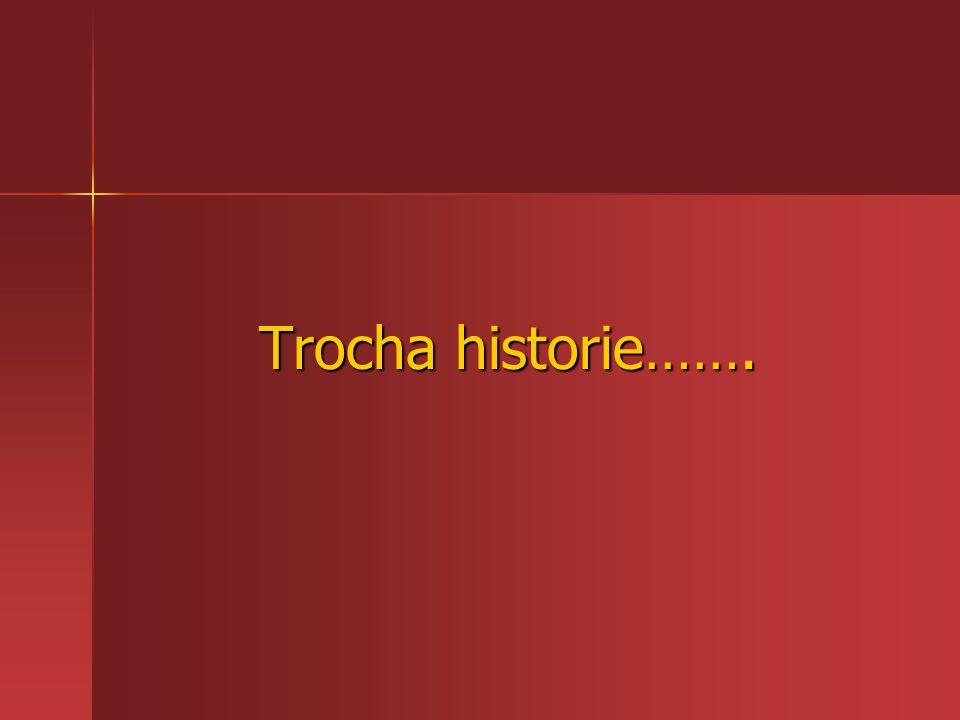 Trocha historie…….