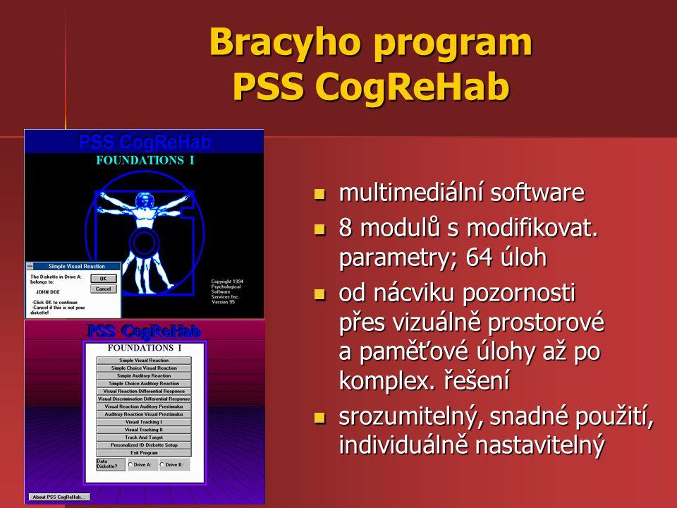 Bracyho program PSS CogReHab