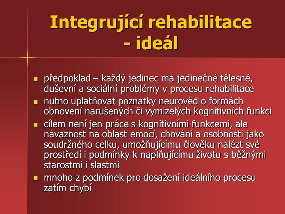 Integrující rehabilitace - ideál